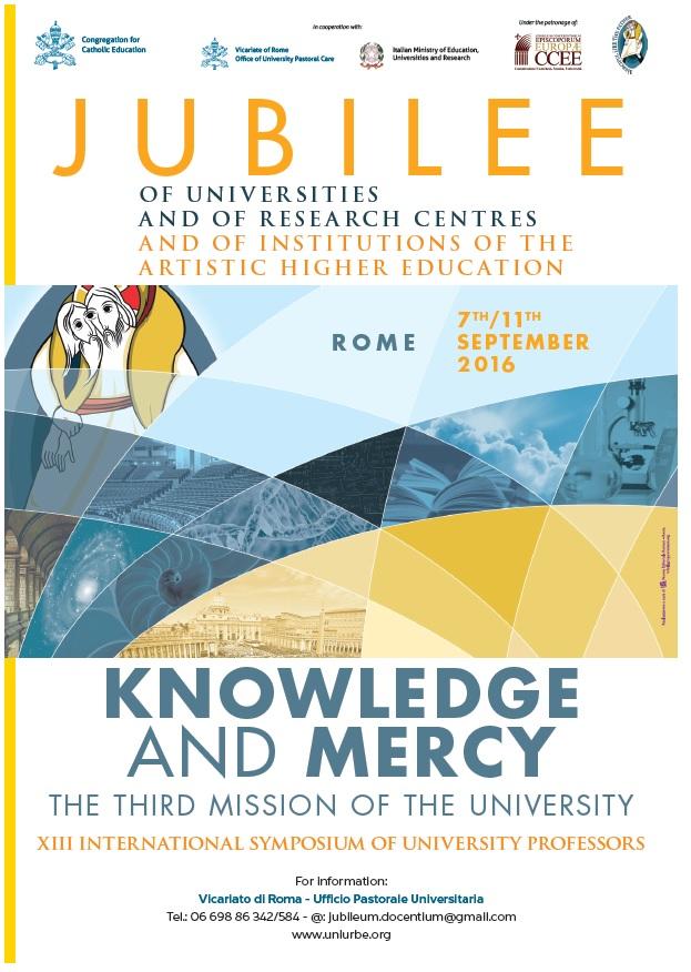 Giubileo delle Università dei Centri di Ricerca e delle Istituzioni dell'Alta Formazione Artistica, Musicale e Coreutica